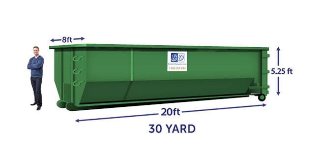 30-yard Dumpsters
